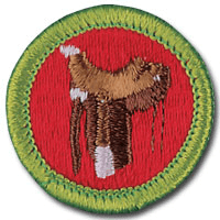 BSA Badge - Merit Badge Counselor Horsemanship